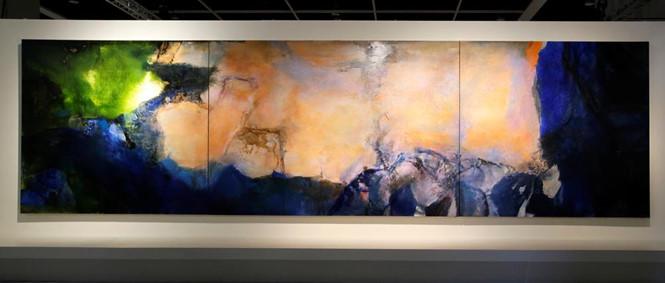 Bức tranh sơn dầu đắt nhất của châu Á